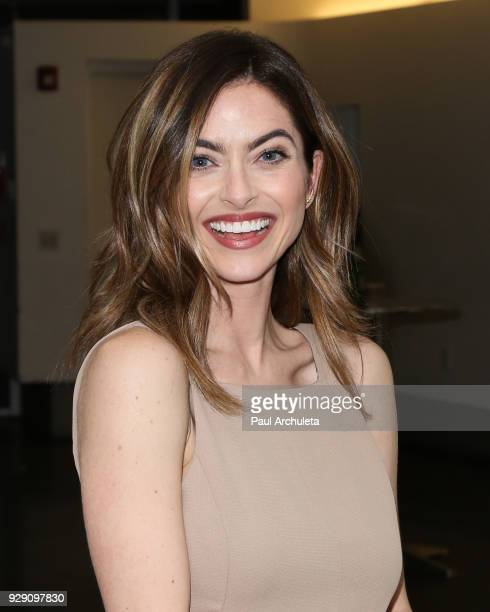 Actress Brooke Lyons attends the screening for the CW's Life Sentence at The Downtown Independent on March 7 2018 in Los Angeles California