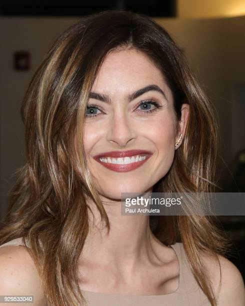 Actress Brooke Lyons attends the screening for the CW's 'Life Sentence' at The Downtown Independent on March 7 2018 in Los Angeles California
