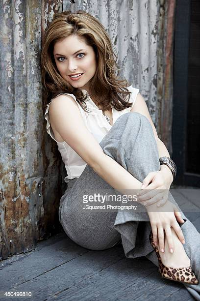 Actress Brooke Lyons is photographed for Self Assignment on October 1 2008 in Los Angeles California