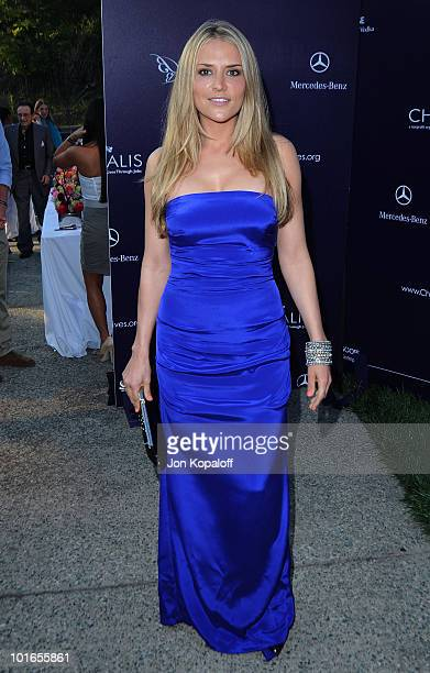 Actress Brooke Mueller arrives at the 9th Annual Chrysalis Butterfly Ball on June 5 2010 in Beverly Hills California