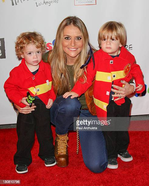 Actress Brooke Mueller attends the 18th annual Dream Halloween Los Angeles at The Barker Hanger on October 29, 2011 in Santa Monica, California.