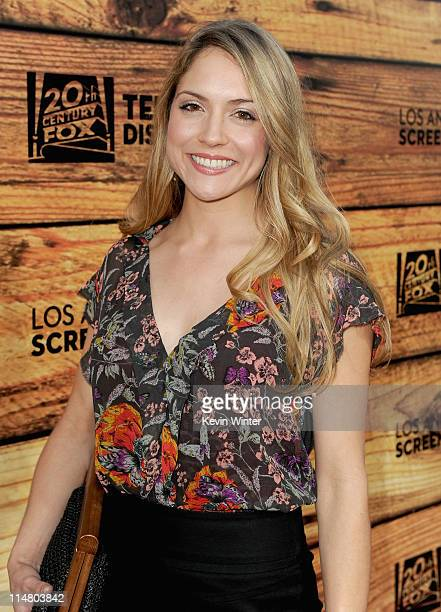 Actress Brooke Nevin attends a starstudded party hosted by Twentieth Century Fox Television Distribution at the Fox Lot on May 26 2011 in Century...