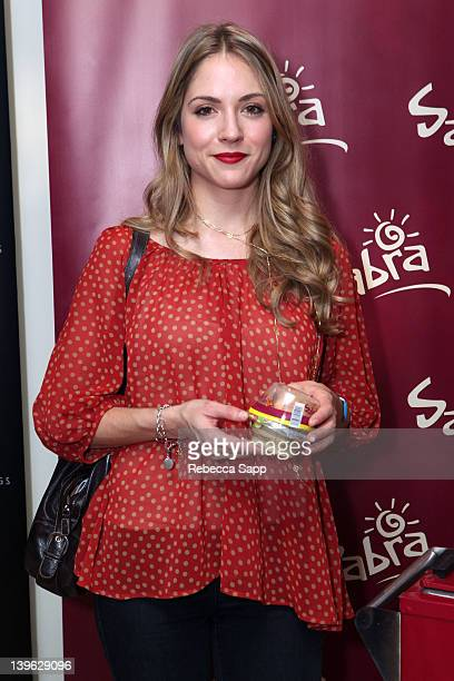 Actress Brooke Nevin attends Kari Feinstein's Oscars Style Lounge at Mondrian Los Angeles on February 23 2012 in West Hollywood California