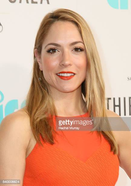 Actress Brooke Nevin attends the 7th Annual Thirst Gala at The Beverly Hilton Hotel on June 13 2016 in Beverly Hills California