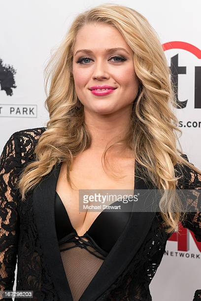 """Actress Brooke Newton attends the """"All My Children"""" & """"One Life To Live"""" premiere at Jack H. Skirball Center for the Performing Arts on April 23,..."""