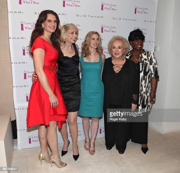 Actress Brooke Shields actress Julie Halston actress Anna Chlumsky actress Doris Roberts and actress LaTanya Richardson Jackson attend the new cast...