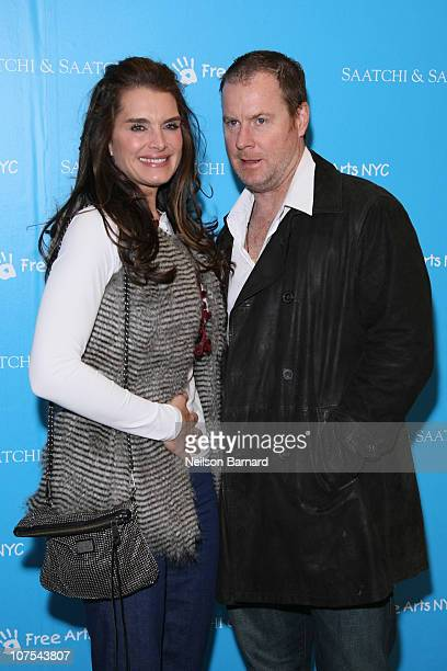 c15d016b6b3f Actress Brooke Shields and Chris Henchy attend the Free Arts NYC s Kidsfest  2010 at Saatchi Saatchi
