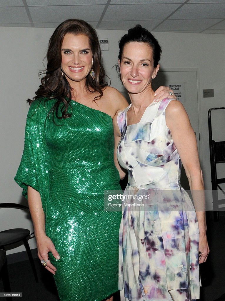 Actress Brooke Shields and designer Cynthia Rowley attend the 45th Annual National Magazine Awards at Alice Tully Hall, Lincoln Center on April 22, 2010 in New York City.