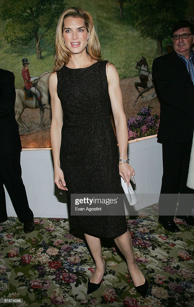 Actress Brooke Shields attends the 2004 Tony Honors For Excellence In Theater luncheon at Tavern On The Green October 26, 2004 in New York City.