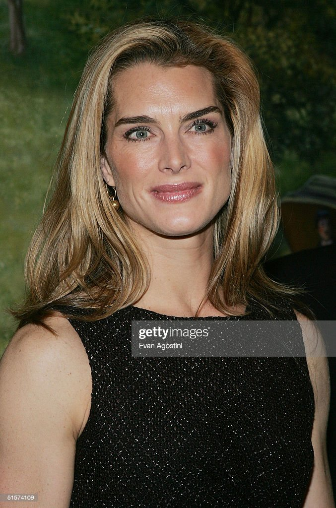 Actress Brooke Shields attends the 2004 Tony Honors For Excellence In Theatre luncheon at Tavern On The Green October 26, 2004 in New York City.