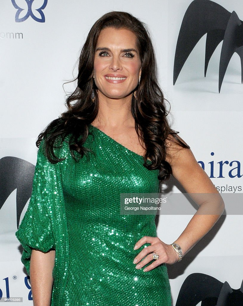 Actress Brooke Shields attends the 45th Annual National Magazine Awards at Alice Tully Hall, Lincoln Center on April 22, 2010 in New York City.