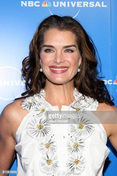 Actress Brooke Shields attends the NBC Universal Experience at Rockefeller Center on May 12 2008 in New York City