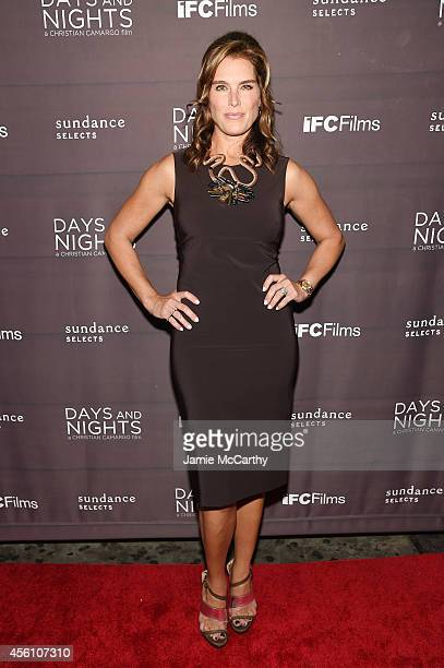 Actress Brooke Shields attends the premiere of 'Days And Nights' at the IFC Center on September 25 2014 in New York City