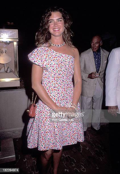"""Actress Brooke Shields attends the Ritz-Carlton Mauna Lana Celebrity Sports Invitational - Harry Winston's """"Jewels of the World"""" Unveiling Cocktail..."""