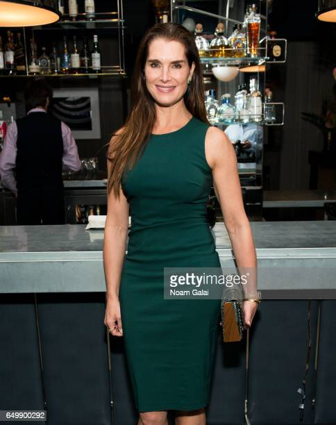 Actress Brooke Shields attends the 'Two Turns From Zero' book launch event at The Regency Bar and Grill on March 8 2017 in New York City