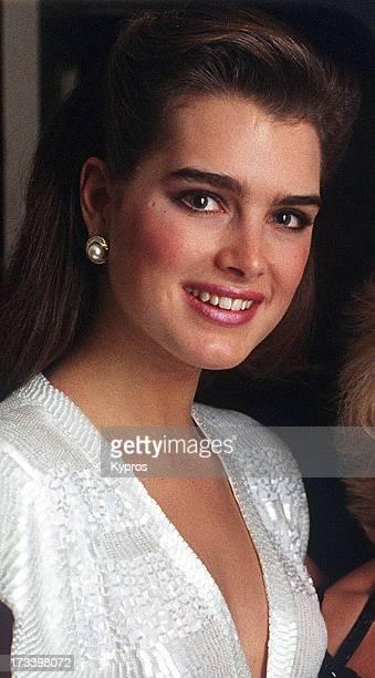 Actress Brooke Shields circa 1987