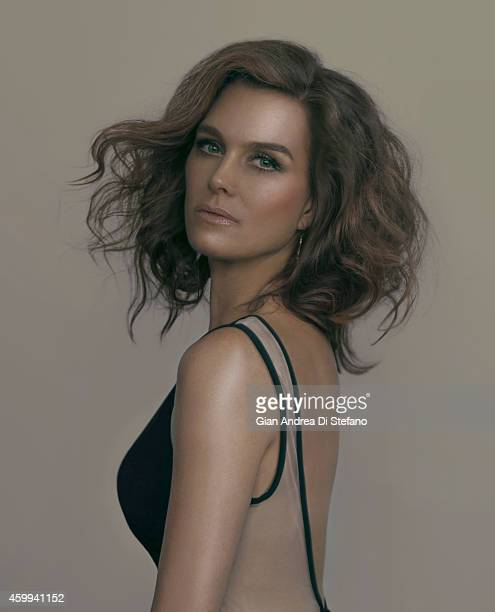 Actress Brooke Shields is photographed for Social Life on July 18 in New York City PUBLISHED COVER