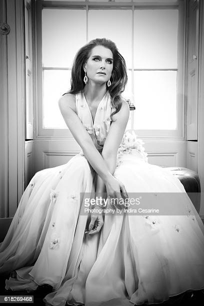 Actress Brooke Shields is photographed for The Untitled Magazine on February 4, 2014 in New York City. PUBLISHED IMAGE. CREDIT MUST READ: Indira...