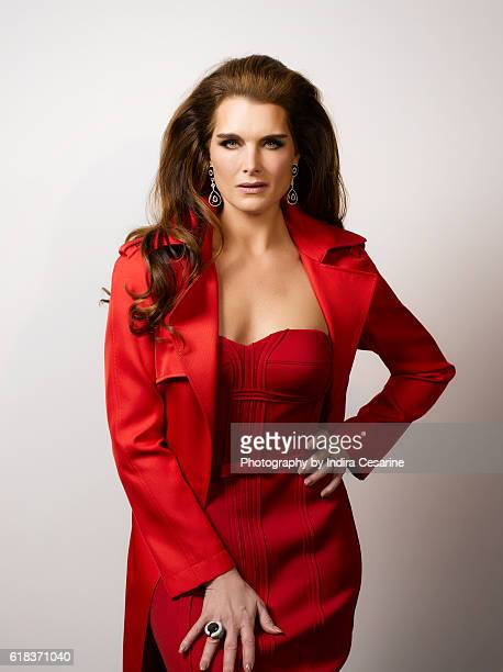Actress Brooke Shields is photographed for The Untitled Magazine on February 4 2014 in New York City CREDIT MUST READ Indira Cesarine/The Untitled...