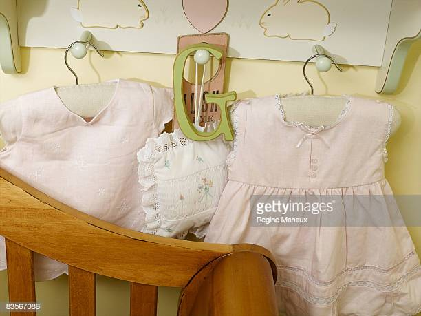 Actress Brooke Shields poses for a portrait shoot with her second child a daughter named Grier Hammond Henchy in their Pacific Pallisades home in...
