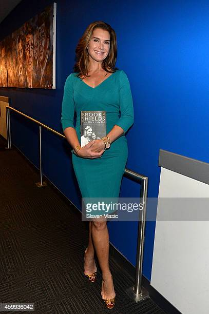 Actress Brooke Shields visits 'FOX Friends' at FOX Studios on December 4 2014 in New York City