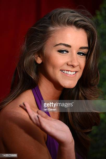 Actress Brooke Vincent attends The 2012 British Soap Awards at ITV Studios on April 28 2012 in London England