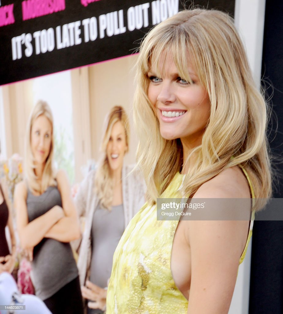 Actress Brooklyn Decker arrives at the Los Angeles premiere of 'What To Expect When You're Expecting' at Grauman's Chinese Theatre on May 14, 2012 in Hollywood, California.