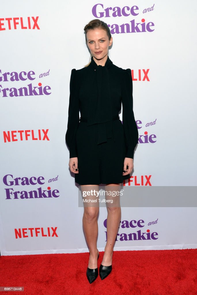Actress Brooklyn Decker attends a screening for Netflix's 'Grace and Frankie' Season 3 at ArcLight Hollywood on March 22, 2017 in Hollywood, California.