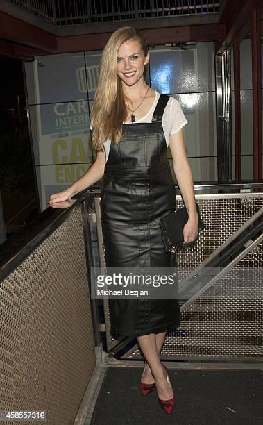 Actress Brooklyn Decker attends Carnaby International Hosts Film Premiere Party For 'Casual Encounters' At AFM at 800 Main on November 6 2014 in...