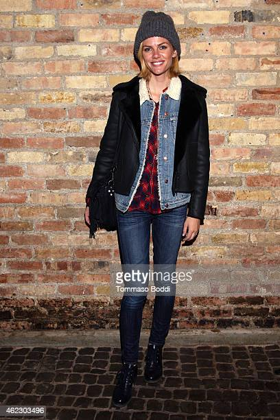 Actress Brooklyn Decker attends the Birchbox Popup At Park City on January 26 2015 in Park City Utah