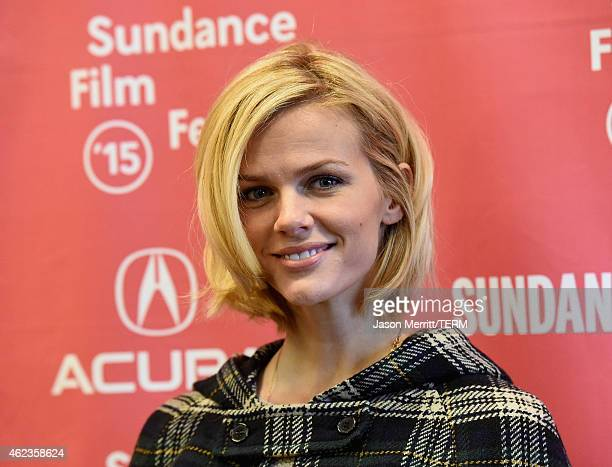 Actress Brooklyn Decker attends the 'Results' Premiere during the 2015 Sundance Film Festival at the Eccles Center Theatre on January 27 2015 in Park...