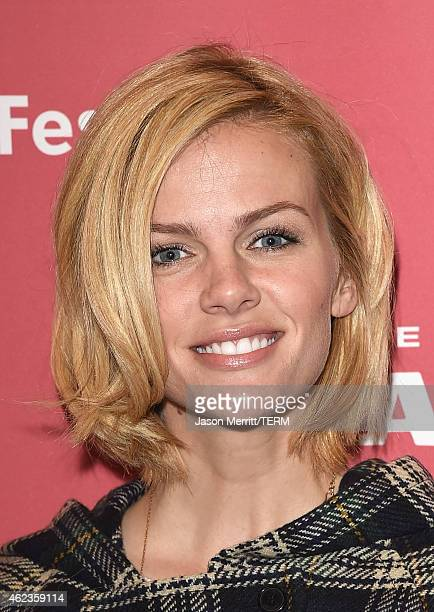 Actress Brooklyn Decker attends the Results Premiere during the 2015 Sundance Film Festival at the Eccles Center Theatre on January 27 2015 in Park...