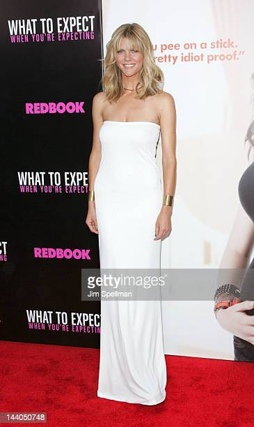 Actress Brooklyn Decker attends the What To Expect When Your Expecting premiere at AMC Lincoln Square Theater on May 8 2012 in New York City