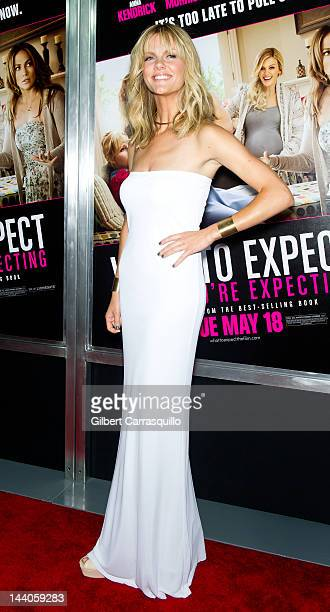 Actress Brooklyn Decker attends the What To Expect When You're Expecting premiere at AMC Loews Lincoln Square on May 8 2012 in New York City