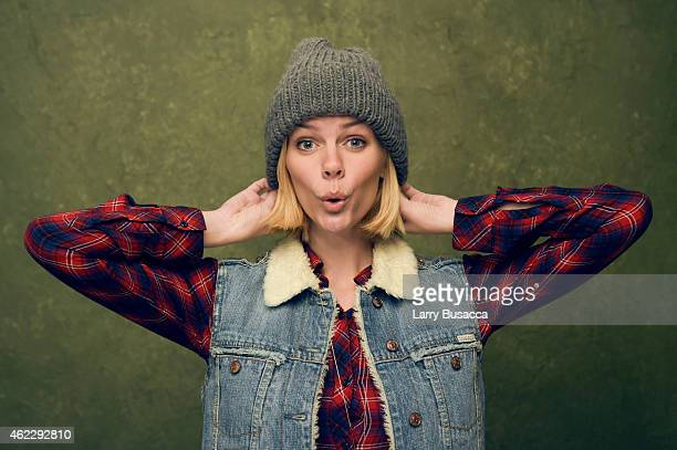 Actress Brooklyn Decker of Results poses for a portrait at the Village at the Lift Presented by McDonald's McCafe during the 2015 Sundance Film...