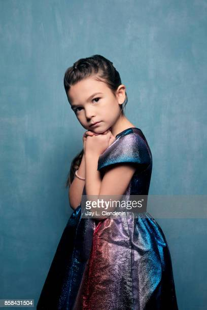 Actress Brooklynn Price from the film The Florida Project poses for a portrait at the 2017 Toronto International Film Festival for Los Angeles Times...