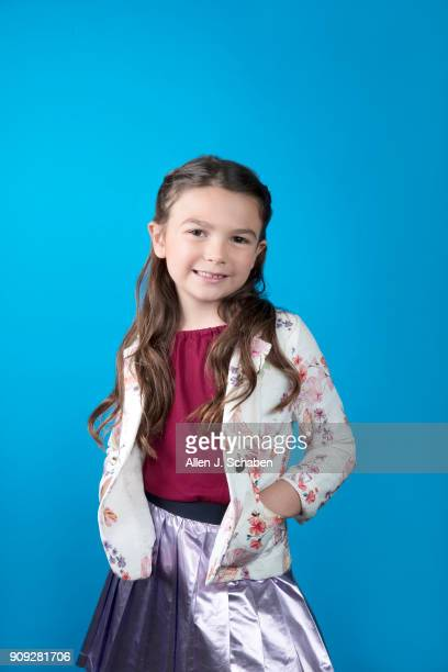 Actress Brooklynn Prince is photographed for Los Angeles Times on November 11 2017 in Hollywood California PUBLISHED IMAGE CREDIT MUST READ Allen J...