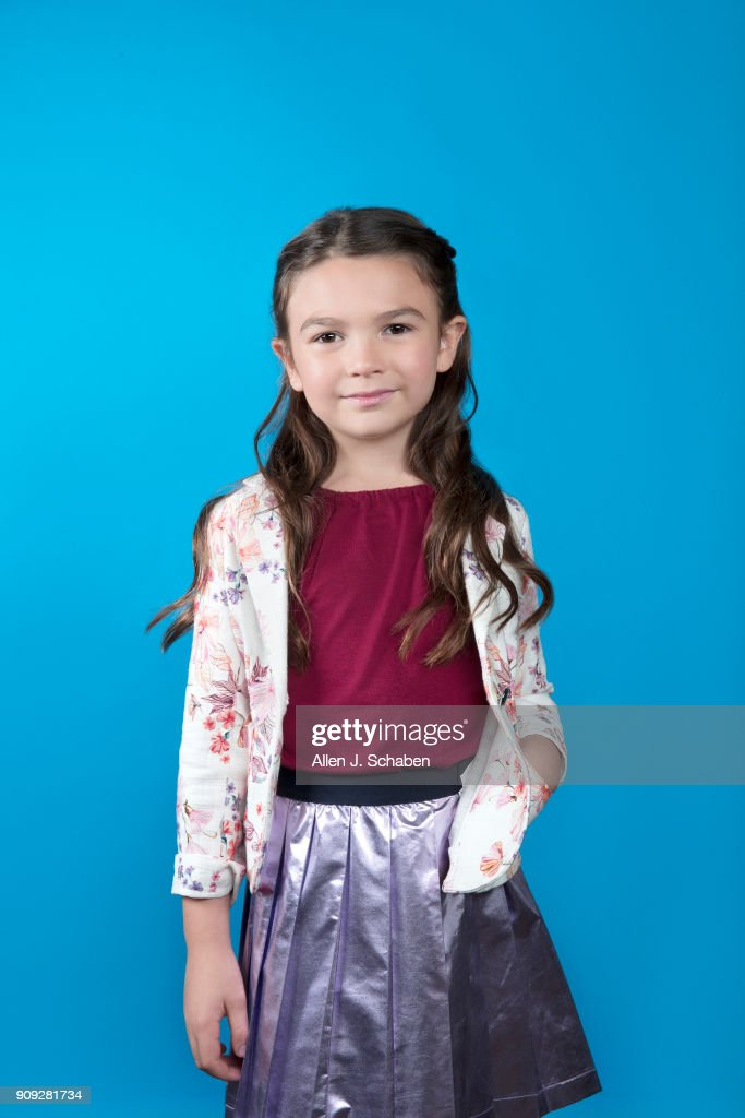 Actress Brooklynn Prince is photographed for Los Angeles Times on November 11, 2017 in Hollywood, California. PUBLISHED IMAGE.
