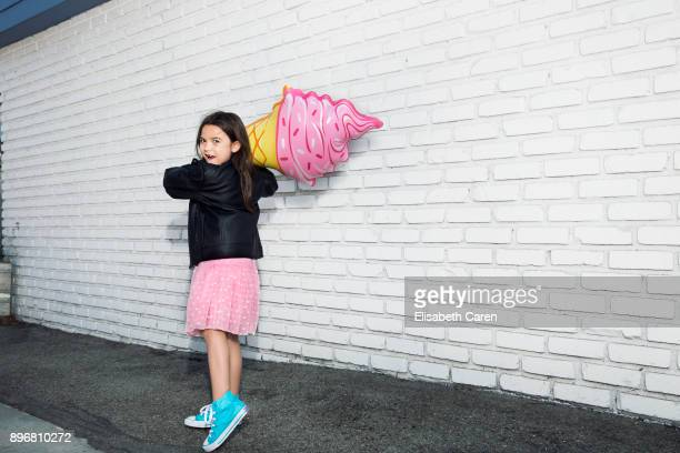 Actress Brooklynn Prince is photographed for The Wrap on September 1 2017 in Los Angeles California