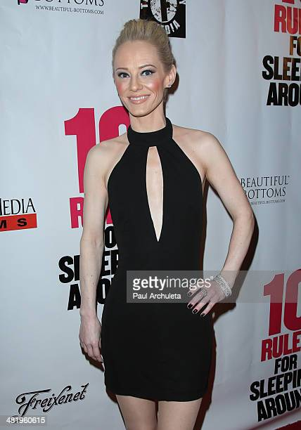 Actress Brooklynne James attends the premiere for 10 Rules For Sleeping Around at the Egyptian Theatre on April 1 2014 in Hollywood California