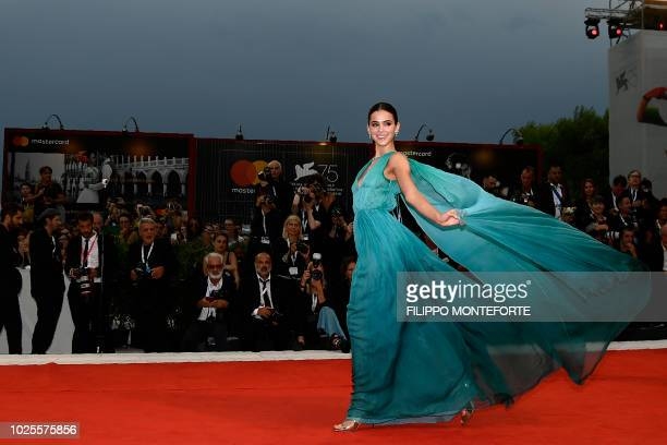 Actress Bruna Marquezine arrives for the premiere of the film 'A Star is Born' presented out of competition on August 31 2018 during the 75th Venice...