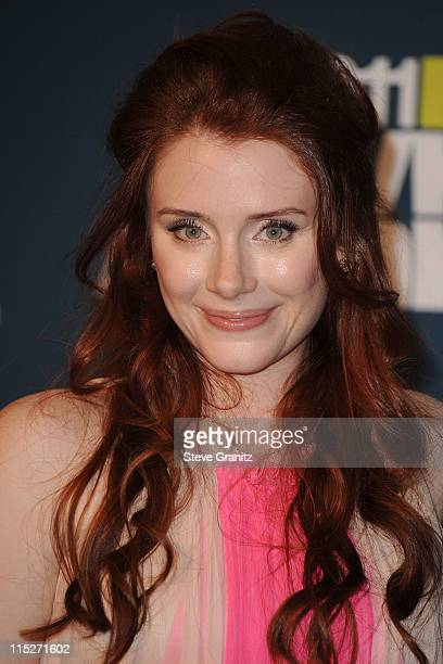 Actress Bryce Dallas Howard arrives at the 2011 MTV Movie Awards at Universal Studios' Gibson Amphitheatre on June 5 2011 in Universal City California