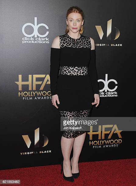 Actress Bryce Dallas Howard arrives at the 20th Annual Hollywood Film Awards at the Beverly Hilton Hotel on November 6 2016 in Los Angeles California