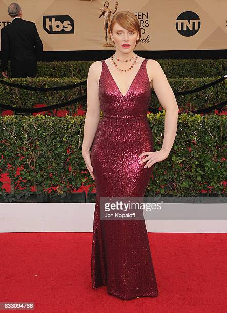 Actress Bryce Dallas Howard arrives at the 23rd Annual Screen Actors Guild Awards at The Shrine Expo Hall on January 29 2017 in Los Angeles California