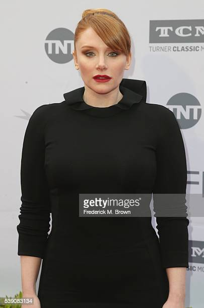 Actress Bryce Dallas Howard arrives at the American Film Institute's 44th Life Achievement Award Gala Tribute to John Williams at Dolby Theatre on...
