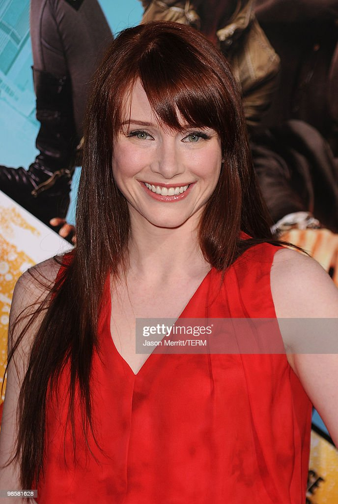 Actress Bryce Dallas Howard arrives at 'The Losers' Premiere at Grauman's Chinese Theatre on April 20, 2010 in Hollywood, California.