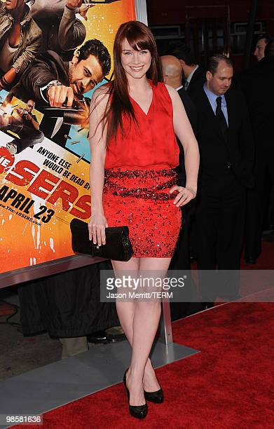 Actress Bryce Dallas Howard arrives at The Losers Premiere at Grauman's Chinese Theatre on April 20 2010 in Hollywood California