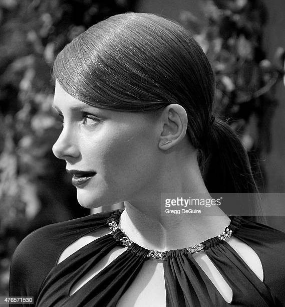 Actress Bryce Dallas Howard arrives at the World Premiere of Jurassic World at Dolby Theatre on June 9 2015 in Hollywood California