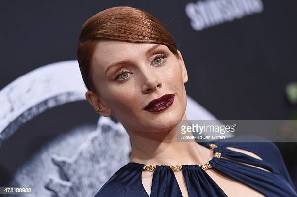 Actress Bryce Dallas Howard arrives at the World Premiere of 'Jurassic World' at Dolby Theatre on June 9, 2015 in Hollywood, California.