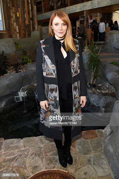 Actress Bryce Dallas Howard attends Glamour's Women Rewriting Hollywood Lunch at Sundance Hosted By Lena Dunham Jenni Konner and Cindi Leive on...